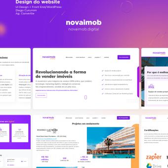 UI Design Project - Novaimob Digital. Un proyecto de UI / UX y Diseño Web de diegocuruma - 31.12.2020