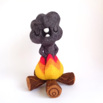 Smoke Cloud. A Character Design, Crafts, Fine Art, Sculpture, Art To, and s project by droolwool - 04.25.2021