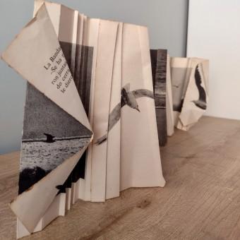 Experimentación. Libro arte. Vuelo incesante. A Design project by Vanessa Arce - 05.19.2021