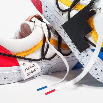 Vans Collab.. Um projeto de Design, Ilustração, Moda e Design de calçados de Marco Oggian - 03.06.2021