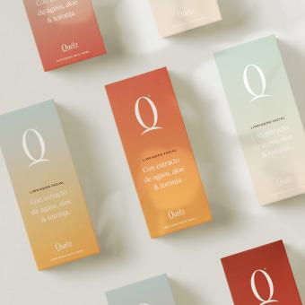 Quetz. Um projeto de Direção de arte, Br, ing e Identidade, Packaging e Tipografia de Rebeca Anaya - 07.06.2021