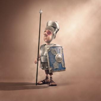 Mi Proyecto del curso: Creación de personajes: del 2D al 3D . Um projeto de 3D, Design de personagens, Design de personagens 3D e 3D Design de Luis Manuel Duque Martín - 12.04.2021