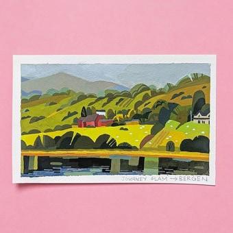 Gouache Paintings. Um projeto de Ilustração, Pintura e Pintura guache de Susan Yung - 14.06.2021