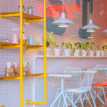 Heladería Soft touch. A Design, Innenarchitektur, Innendesign, Beleuchtungsdesign, Produktdesign und Dekoration von Innenräumen project by Laura Palacio - 15.04.2016