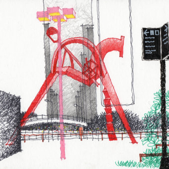 URBAN SKETCHES 2020/2. Um projeto de Ilustração, Esboçado, Desenho a lápis, Desenho e Desenho artístico de Alan Innes - 10.12.2020