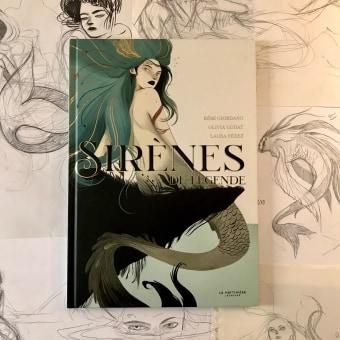 Proceso del álbum ilustrado 'SIRÈNES DE LÉGENDE'. Um projeto de Ilustração e Ilustração infantil de Laura Pérez - 01.09.2020