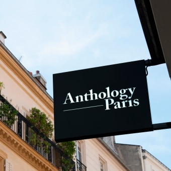 Anthology Paris. A Br, ing, Identit, Graphic Design, T, pograph, Web Design, and Communication project by plastac - 10.31.2018