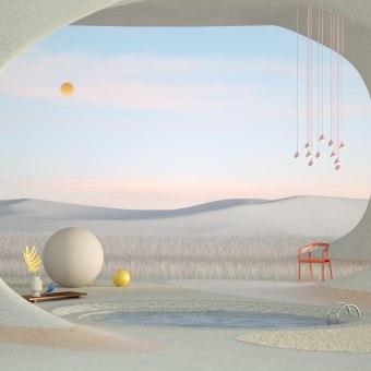 Poética de la Libertad. Um projeto de Ilustração, 3D, Arquitetura, Direção de arte, Design de cenários, Modelagem 3D e 3D Design de Francisco Cortés - 20.06.2021