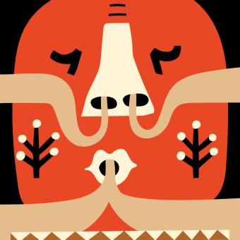 Set of illustrations for Pause magazine. Um projeto de Ilustração, Design de personagens, Lettering, Ilustração vetorial e Ilustração digital de Adriana Quezada - 20.04.2019