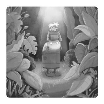 Flowers For Machines. Um projeto de Ilustração e Ilustração digital de Jon Lau - 06.07.2021