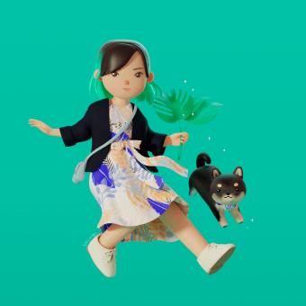 Retratos comisionados. Um projeto de Ilustração, Design de personagens e Modelagem 3D de Yasmin Islas Domínguez - 30.06.2020