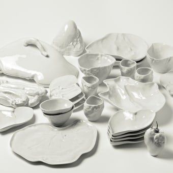 Food on the Table. A Design, H, werk, Industriedesign, Produktdesign und Keramik project by Marre Moerel - 08.07.2021