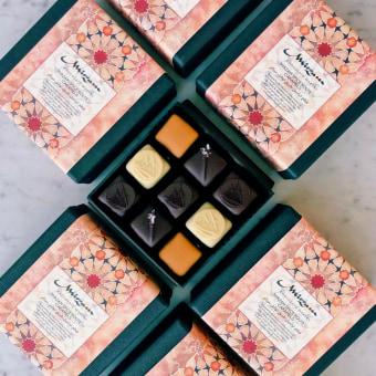 Exploring the Spice Route with Mirzam, Dubai based chocolate makers . Um projeto de Ilustração, Artes plásticas, Design de produtos e Pós-produção audiovisual de Maaida Noor - 18.07.2021