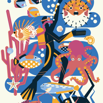 My project in Stylized Vector Illustration with Color and Character course. A Illustration, Grafikdesign, Vektorillustration und Digitale Illustration project by Kristina Gerlits - 22.07.2021