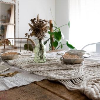CAMINO DE MESA. Um projeto de Artesanato, Design de interiores e Interiores de Sara Moreno - 26.07.2021