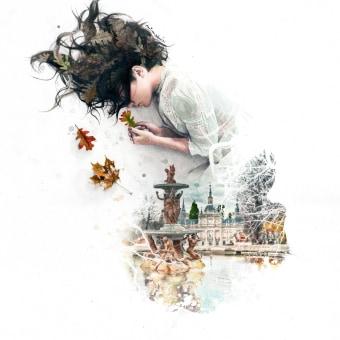 """""""Morpheus' Dream"""". A Illustration, L, schaftsbau, Kreativität und Porträtzeichnung project by Mentiradeloro Esther Cuesta - 29.07.2021"""