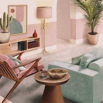 Casa e Jardim • Feng Shui. A Illustration, Verlagsdesign, Grafikdesign und Dekoration von Innenräumen project by Débora Islas - 01.12.2020