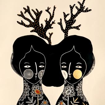 SoMoS mAr / SoMoS oLeAjE. A Bildende Künste, Collage, Stickerei und Textile Illustration project by Esther Martínez - 22.03.2019