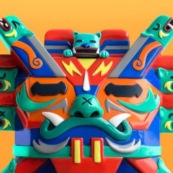 El Despertar de Wiracocha. A Design von Figuren, Skulptur und Art To project by Jumping Lomo - 07.11.2019