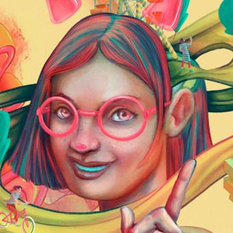 IT'S BEEN A WHILE. Um projeto de Ilustração, Publicidade e Design gráfico de Luis Torres (Mr. Flama) - 23.04.2021