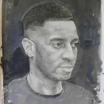 Mixed Media Portrait Drawings . A Malerei, Kreativität, Bleistiftzeichnung, Zeichnung und Porträtzeichnung project by Alan Coulson - 30.08.2021