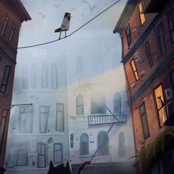 My project in Cinematic Digital Illustration with Photoshop course. A Illustration, Digitale Illustration und Concept Art project by Jean Ellis - 30.08.2021