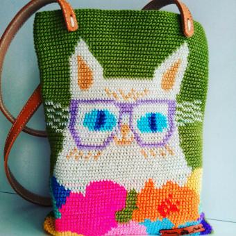 Mi Proyecto del curso: Tapestry: técnica de crochet para dibujar con hilos. Tótem Florentina . A Erweiterungsentwicklung, Mode, Musterdesign, Weben, DIY und Crochet project by Carolina del Pilar - 28.08.2021