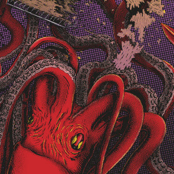 El Diablo Rojo. A Illustration, Grafikdesign, Produktdesign, Lettering und Plakatdesign project by Mattia Pirillo - 09.09.2021