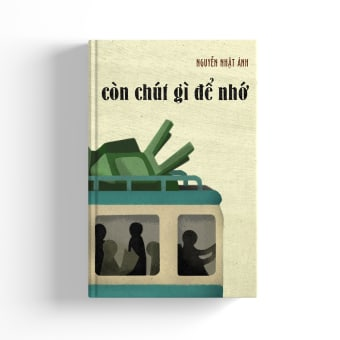 Book Cover Design - Còn chút gì để nhớ (What's left to remember). A Design, Illustration, Verlagsdesign und Buchbinderei project by Hạnh Nguyễn - 09.09.2021