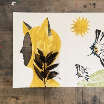 Leporello: progetto di fine corso. A Illustration und Bildende Künste project by Elisa Talentino - 14.09.2021