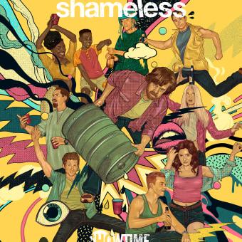 SHAMELESS: SHOWTIME SXSW 2020. A Design und Illustration project by Pedro Correa - 28.01.2020