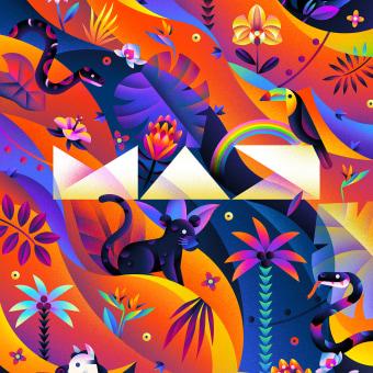 Adobe - CoCreate: Max. Un proyecto de Ilustración, Eventos e Ilustración editorial de Catherine Pearson - 01.10.2021