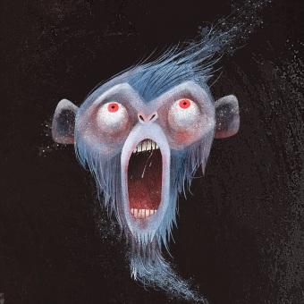 Los Monos Fantasma. Un proyecto de Ilustración, Diseño de personajes, Ilustración vectorial, Creatividad, Ilustración digital e Ilustración infantil de Luis San Vicente - 08.10.2021