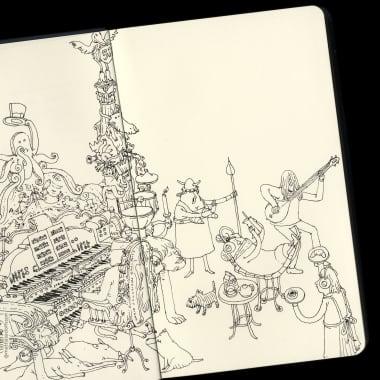 Compartilhe seu sketchbook com a comunidade