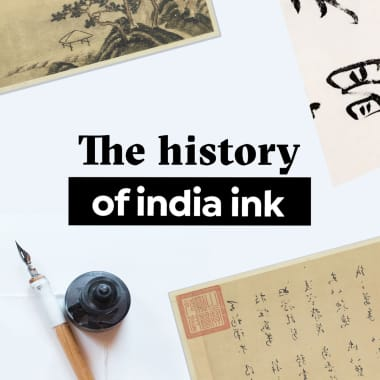 The History of India Ink: From Drunk Poets to Sumi-e