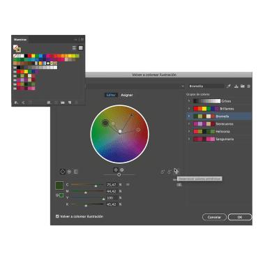 Tutorial lllustrator: cómo crear paletas de color a partir de imágenes