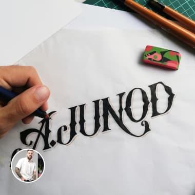 Colección de logotipos basados en lettering por Simón Londoño Sierra