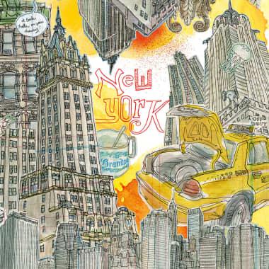 Meet Illustrator Lapin and his Fantastic Universe