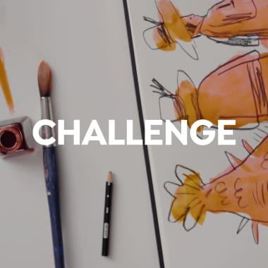 Challenge para desbloquear tu creatividad: de mancha a personaje