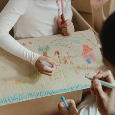 Dibujos de infancia: ilustrando recuerdos