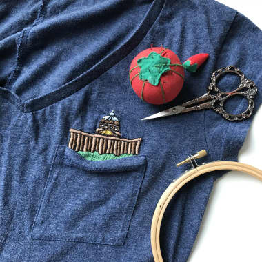 Embroidery Tutorial: How to Care for Hand Embroidered Clothing
