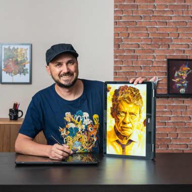 Tutorial Illustrator: cómo crear un pincel para retratos vectoriales