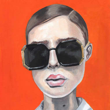 Meet Amy Pearson and Her Beautifully Illustrated Portraits