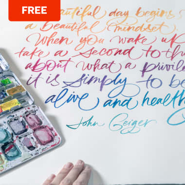 5 Free Classes to Master the Brush Pen for Perfectionists