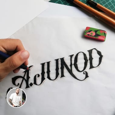 Collection of Lettering-based Logos by Simón Londoño Sierra
