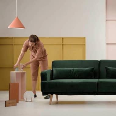 Diseñadores de interiores reaccionan a casas comunes