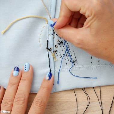Embroidery Tutorial: How to Finish Your Design