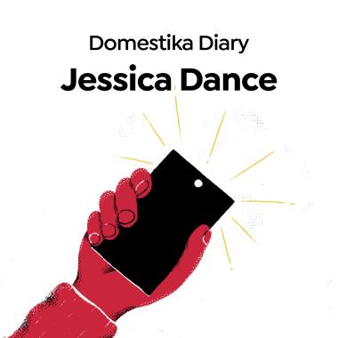Diarios Domestika: Jessica Dance