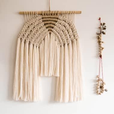 ¿Qué es el macramé y qué materiales necesito para hacer nudos?