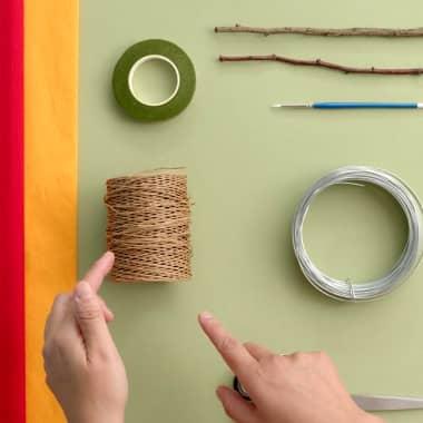 Materials: Paper Flowers